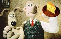 More cheese, Gromit?
