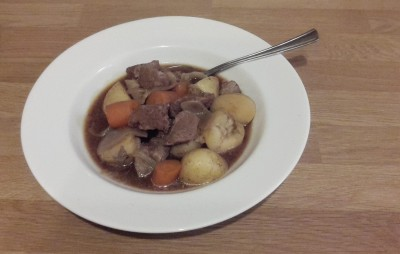 Quick and tasty beef stew