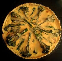 Salmon-and-broccoli-quiche