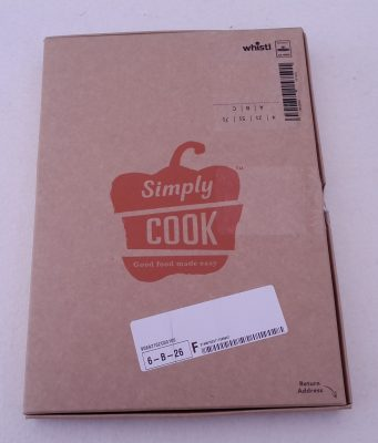 Simply Cook Mailing Box